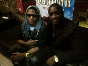 Akon Performs at Wizkid's NYC concert